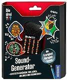 KOSMOS 634094 Die drei ??? Sound-Generator, mit 16 Detektiv-Geräuschen zum Lachen, Erschrecken und Ablenken. Detektivspielzeug, Detektiv Ausrüstung, Detektiv Set, Mitbringsel Kindergeburtstag