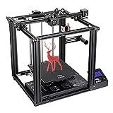 3D-Drucker Creality Ender-5 Pro, neuer verbesserter Ender-5Pro mit leisem Motherboard, Steinbock-PTFE-Rohr, Metall-Extrusionsmaschine 220 * 220 * 300 mm