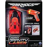 Air Hogs 6054126 Zero Gravity Laser Racer, Rennwagen mit Laser - Fernsteuerung, fährt an Wänden und Decken, rot