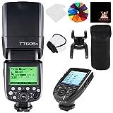 GODOX TT685O TTL 2.4G Wireless Blitz GN60 1/8000 HSS Blitzgerät Aufsteckblitz Speedlite mit XPRO-O Trigger Auslöser für Olymp