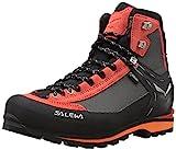 Salewa Herren MS Crow Gore-TEX Trekking-& Wanderstiefel, Black/Papavero, 43 EU