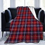 Aberdeen University Lendenwirbel-Überwurf, ultraweich, weich, warm, für Bett, Bett, Bett, Sofa, Büro, Wohnzimmer, Heimdekoration, 127 x 152,4 cm