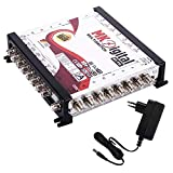 MK Digital MV 916 Multischalter, Multiswitch SAT Verteiler 9 auf 16 kaskadierbar (FullHD, HDTV, 4K, UHD, 8K)