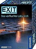 KOSMOS 682026 EXIT - Das Spiel - Das verfluchte Labyrinth, Level: Einsteiger, Escape Room Spiel, für 1 bis 4 Spieler ab 10 Jahre, einmaliges Event-Spiel, spannendes Gesellschaftssp