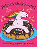 Primary story journal. Dotted midline and picture space: Draw and write journal for preschool. Grades k-2. Creative writing for kids. Lakeshore draw ... Pages. Funny relaxed unicorn on the cover.