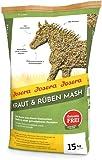 JOSERA Kraut & Rüben Mash (1 x 15 kg) | Premium Pferdefutter Mash | Pferdefutter mit Leinsamen | Stärke- und zuckerreduziert | voll mineralisiert | 1er Pack