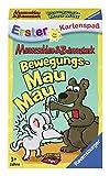 Ravensburger 20347 - Bewegungs Mau Mau, Mauseschlau & Bärenstark für Kinder, Kinderspiel für 2-4 Spieler, Kartenspiel ab 3 Jahren