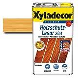 Xyladecor® Holzschutz-Lasur 2 in 1 Kiefer 2,5 l Gartenhäuser | Carports | Pergolen & Zäune - Außenbereich