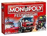 Winning Moves Monopoly Feuerwehr Edition 2021 Brettspiel Gesellschaftsspiel Spiel