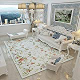 ZAZN Moderner Minimalistischer Teppich Nordamerikanische Landmatten Wohnzimmer Couchtisch Teppich Schlafzimmer Nachttisch Teppich Fußmatten