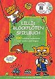 Lillis Blockflöten Spielbuch mit CD & QR-Codes: 100 beliebte Kinderlieder zum Spielen und Singen!: 100 beliebte Kinderlieder zum Spielen und Singen! ... Gesang und Gitarre in einfachen Tonarten.