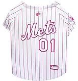 Pets First MLB New York Mets Hundetrikot, Größe S, Rosa