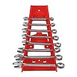 Alvinlite Greiferschlüssel-Organizer, Standard-Schraubenschlüssel-Organizer-Ablage aus massivem Kunststoff