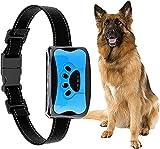 MIOLAI Automatisches Anti Bell Halsband, Erziehungshalsband Hund,Wasserdicht Anti-Bell-Halsbänder No-Schock Geeignet für große Hunde, mittlere Hunde, kleine Hunde(Blau)