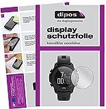 dipos I Schutzfolie kompatibel mit Wahoo Elemnt Rival Displayschutz-Folie klar