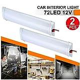 2x 12V LED Innenbeleuchtung Kuppel Dachdecke Lesekoffer für Wohnmobil Wohnmobil Anhänger