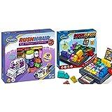 ThinkFun 76303 - Rush Hour® Junior - Das bekannte Logikspiel für jüngere Spieler & 76301 Rush Hour, Logik- und Strategiespiel, für Kinder und Erwachsene, Brettspiel ab 1 Spieler, ab 8 Jahren