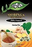 DALGETY Moringa mit Ingwer-Kräutertee Gesund und köstlicher Kräuteraufguss 20 Teebeutel pro Karton 100% natürliche Inhaltsstoffe Echter Karibik-Tee Produkt aus Großbritannien
