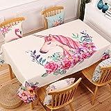 Verdickte Cartoon Druck Wasserdicht Baumwolle Und Leinen Tischdecke Esstisch Abdeckung Küchenschrank Tischdecke 140x240cm 18