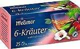 Meßmer 6-Kräuter-Mischung   25 Teebeutel   Vegan   Glutenfrei   Laktosefrei