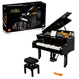 LEGO 21323 Ideas Konzertflügel Bauset für Erwachsene, Schaustück, Geschenk für Sammler, mit Motor und funktionierenden Tasten