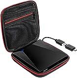 Externes DVD-Laufwerk USB 3.0 CD DVD Laufwerk für Laptop mit Aufbewahrungstasche Tasche Tragbare DVD/CD ROM +/-RW Laufwerk-Brenner Windows, Mac, Linux Desktop, MacBook Pro Air, iMac