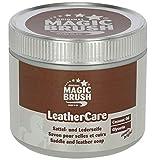 MagicBrush Kerbl Original Lederseife Sattelseife, Kokosnussöl, Alle Leder, 500ml