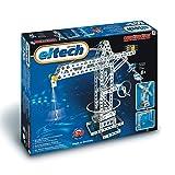 Eitech C05 5 00005-Metallbaukasten-Kran/Hebebrücke/Windmühle Set, 270-teilig