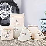 3 Farben Stickerei Wäschesack Geschützte Unterwäsche BH-Socken Spezielle Waschbeutel Reißverschluss Mesh Dessous BH Wäsche Waschbeutel-Pflaume