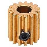 Industrieroboter-Zahnrad, 15-Zahn-Zahnrad Messing-Zahnrad Kettenrad-Industrieroboter-Zubehörteil 6 mm Mittelloch