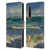Head Case Designs Offiziell Zugelassen Masters Collection Seascape Near Les Sainte Marie Bilder 2 Leder Brieftaschen Handyhülle Hülle Huelle kompatibel mit Oppo Find X2 Pro 5G