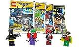 LEGO 4er Set Batman. Joker - Harley Quinn - Robin und Batman