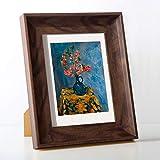 Harz Bilderrahmen Kunst Tisch Desktop Dekor Fotorahmen für Bilder Malen Hochzeit Geburtstag DIY Geschenk 10 Zoll-20,3 x 25,4 cm A.