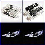 SMP® 2x Logo Tür Projektor kompatibel mit MINI, LED Willkommens-Licht mit Emblem - Türbeleuchtung - Einstiegsleuchten - Geist Schatten Lampe - 63312414106
