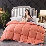 Cactuso Sommerbettdecke 200x220,Down Ist Kingsize-Bett-180x220cm 3000g_orange Grau