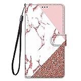 Miagon Full Body Flip PU Leder Schutzhülle für Samsung Galaxy S6,Bunt Muster Hülle Brieftasche Case Cover Ständer mit Kartenfächer,M
