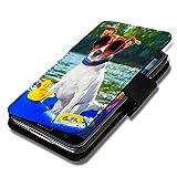 wicostar Book Style Flip Handy Tasche Case Schutz Hülle Schale Motiv Etui für Nokia Lumia 630 - Flip 1X16 Design12