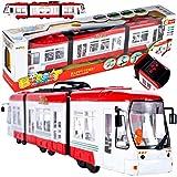 MalPlay Straßenbahn | mit Licht und Sound | ab 3 Jahren | Geschenk für Kinder und Erw
