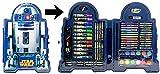SW 72 TLG. - großer Malkoffer R2-D2 - Star Wars - zum Basteln / Malen / Filzstifte / Wachsmalstifte / Buntstifte / Schreibset