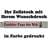 Zollstock Gravur