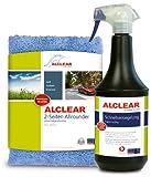 ALCLEAR 71100SV Lack Schnellversiegelung 1 Liter inkl. Mikrofaser Auto Poliertuch für Autopflege, Motorrad, F