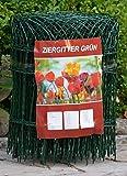 Profishop-Bremen Zierzaun Ziergitter Gartengitter Gartenzaun Maschendrahtzaun 65 cm hoch 25 m lang PVC-beschichtet