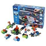Plus-Plus 9603853 Kreativ-Bausteine, Kreisel Set, Spinning Tops, Geniales Konstruktionsspielzeug, 200 T