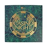 Talking Tables V2 Kit | Host Your Own Games Night | Poker, Blackjack, Roulette | Für Erwachsene, After Dinner Partys, Party, Weihnachten, Geschenk, Cardboard, Multifarbe Nacht im Casino Spiel