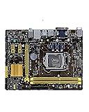 SIJI Computer-Motherboard passend für ASUS H81M-E Original Motherboard LG 1150 DDR3, geeignet für i3 i5 i7 CPU 16GB SATA 3 USB 2.0 USB 3.0 Desktop-Computer Motherboard