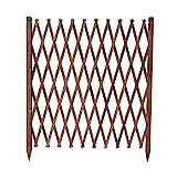 JHHL Zaun/Holz Zaun/Outdoor Gartenzaun/Teleskop Leitschiene/Grid Dekoration/Tier Zaun/Barriere Tür (Size : 70x180cm)