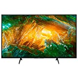 Sony KD-49XH8077 4K HDR Fernseher (UHD 4K 3840 x 2160, Smart TV, X-Reality Pro 4K, Dolby Atmos, 4X HDMI, A) silber