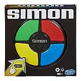 Hasbro E9383 Simon Spiel, elektronisches Merkspiel für Kinder ab 8 Jahren; Spiel mit Lichtern und Geräuschen, klassisches Simon Spielprinzip