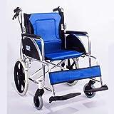 Mechanische Teile Medizinischer Reha-Stuhl Rollstuhl Leichter klappbarer Rollstuhl, der medizinische medizinische Versorgung für Erwachsene für den Außenbereich tragbarer Rollstuhl aus Aluminiumleg