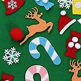 Tree-de-Life Weihnachtsdekoration Kinderhandgemachte DIY Weihnachtsbaum Filz Stoff Material Kleine Ornamente B